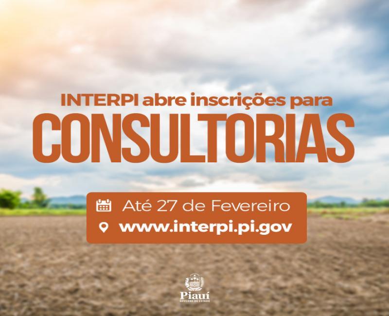 Abertas inscrições para seleção de consultores no Interpi