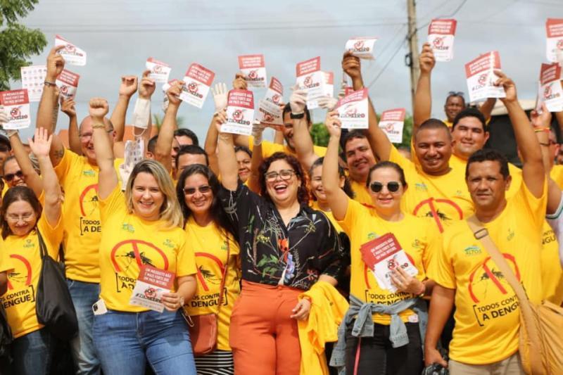 Prefeitura de Altos realiza mobilização contra o mosquito Aedes aegypti