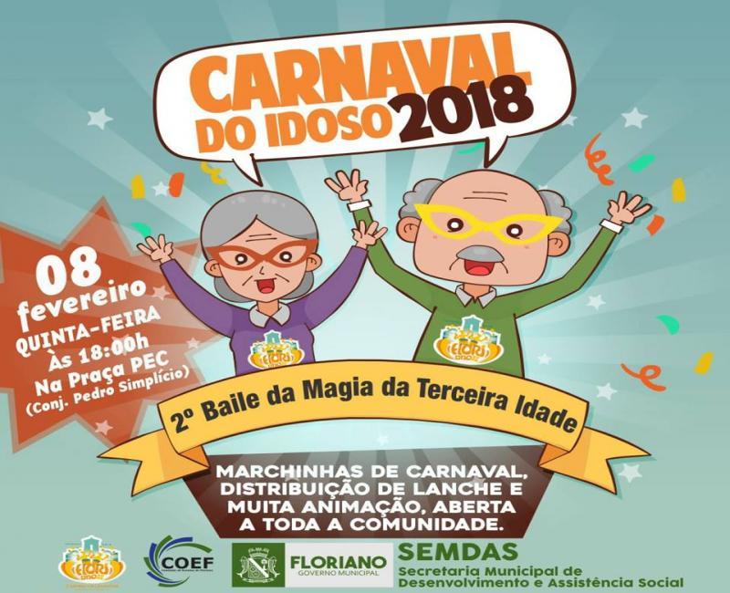 Carnaval do Idoso: II Baile da Magia da Terceira Idade