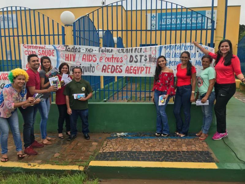 Secretaria de Saúde de Lagoinha do Piauí promove blitz educativa