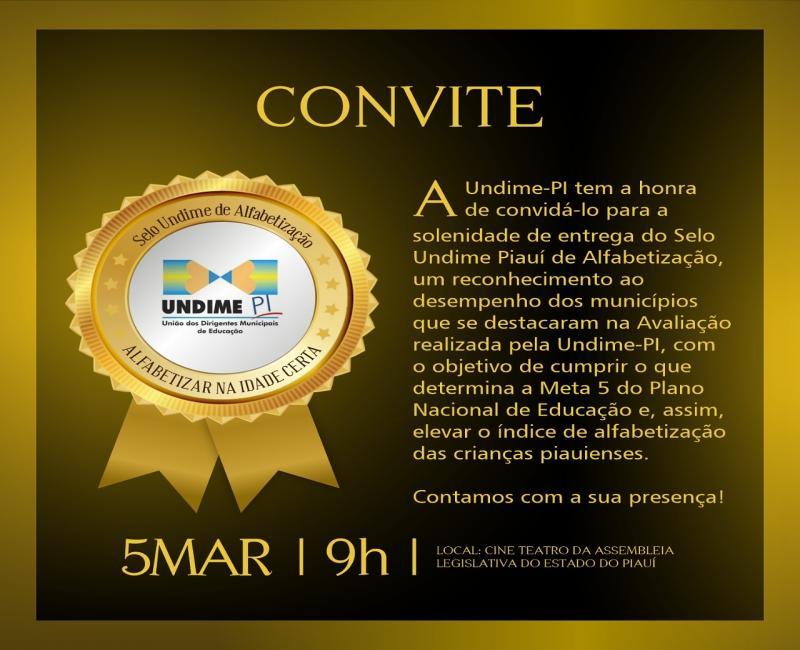 Educação de Colônia do Gurgueia receberá Selo Undime Piauí de Alfabetização