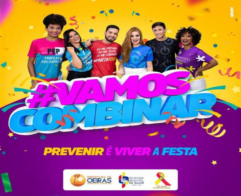 Oeiras lança campanha de prevenção às Infecções Sexualmente Transmissíveis