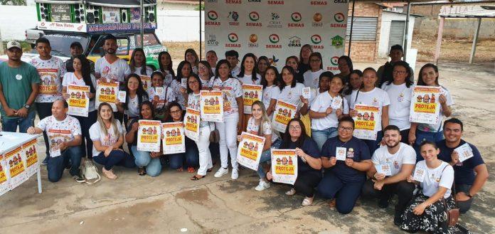 Secretaria de Assistência Social realiza blitz educativa em Oeiras
