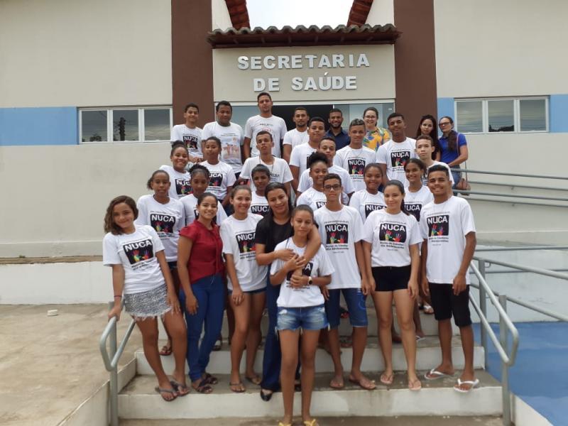 Secretaria de Saúde de Francinópolis realiza capacitação com adolescentes