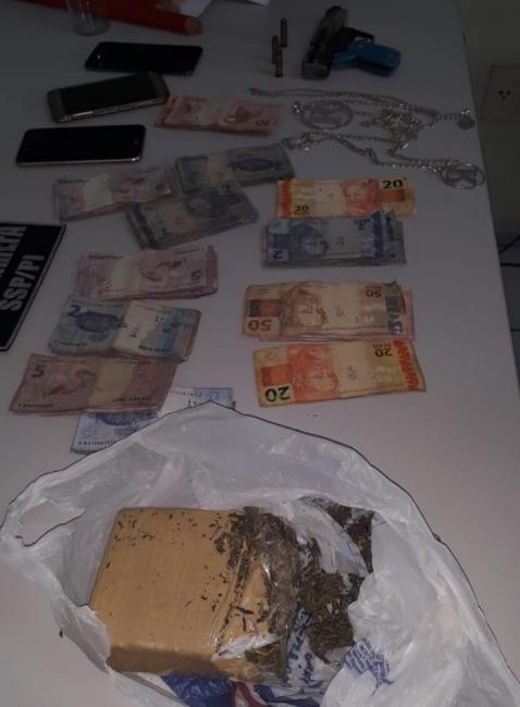 Força-tarefa prende suspeitos de tráfico de drogas na zona Sul de Teresina