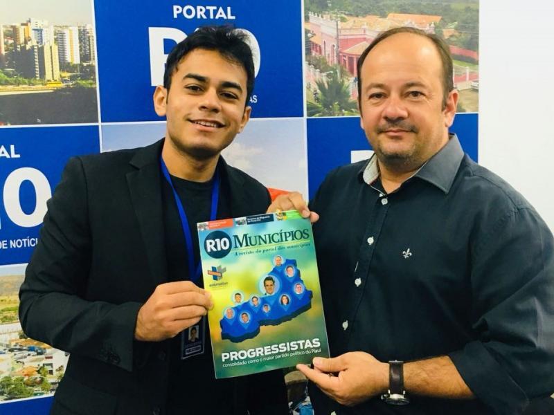 Portal R10 lança terceira edição da Revista Municípios