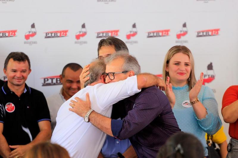 Firmino e JVC avaliam cenários para sucessão em Teresina