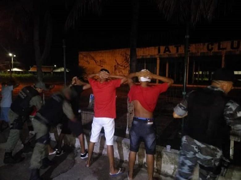 Polícia apreende onze menores de idade na cidade de Campo Maior