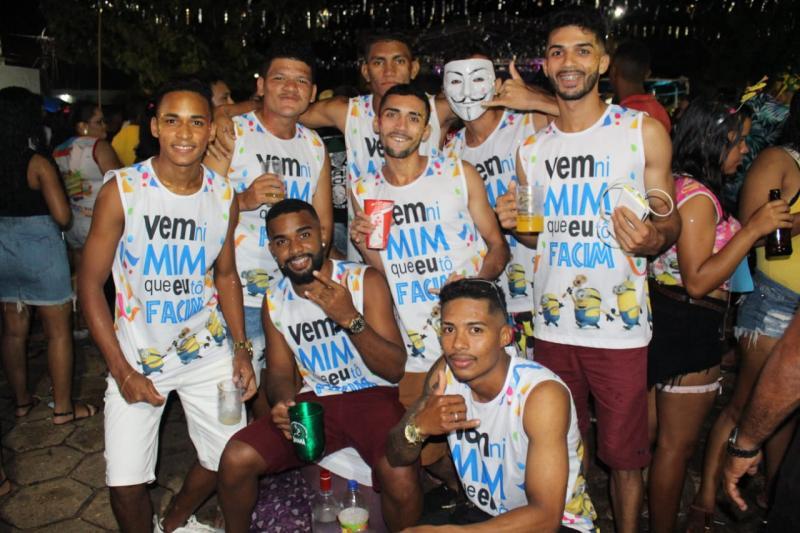 Veja os registros do último dia de Carnaval em Altos