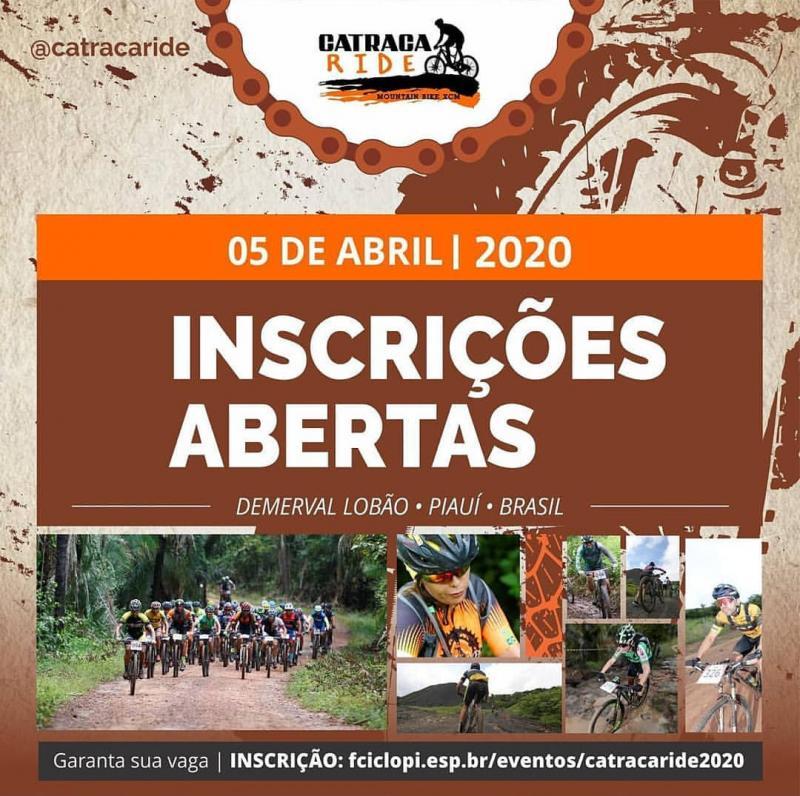 Demerval Lobão | Desafio 'Catraca Ride 2020', inscrições abertas