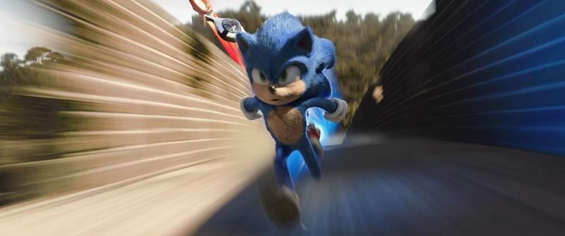 'Sonic' lidera bilheterias brasileiras em final de semana de carnaval