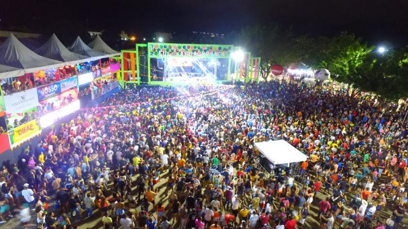 Zé Vaqueiro encerra última noite de Carnaval em Água Branca