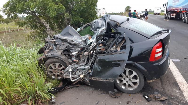 Família morta em acidente na BR 343 é identificada