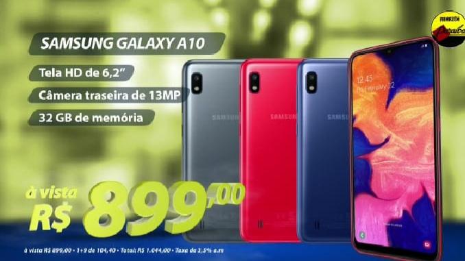 Confira as promoções de celulares no Armazém Paraíba de São João do Arraial