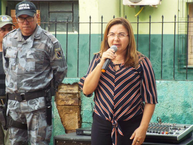 Prefeita Vilma Lima prestigia solenidade dos 45 anos da 4° companhia da PM