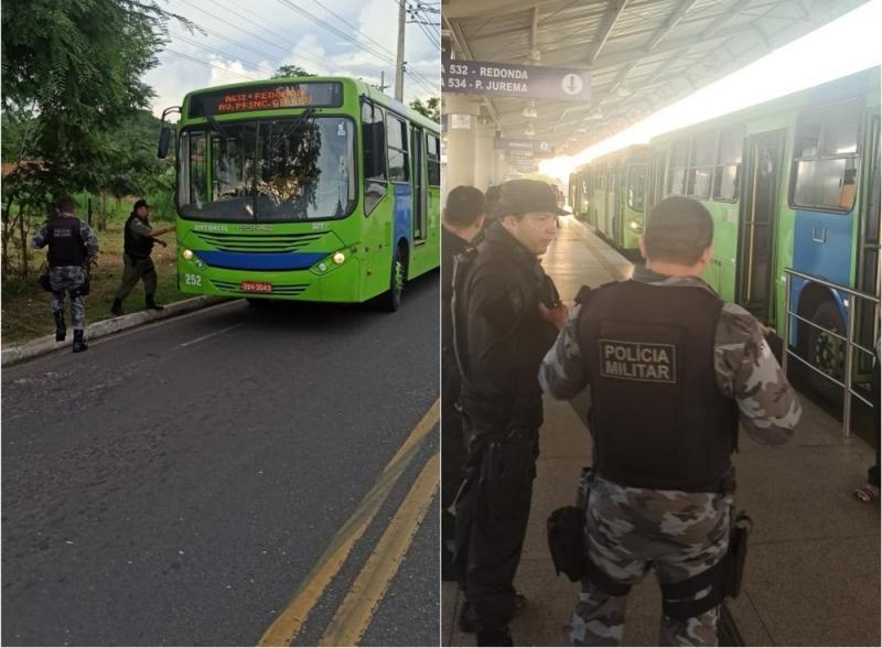 Secretaria de Segurança inicia rondas policiais em coletivos de Teresina