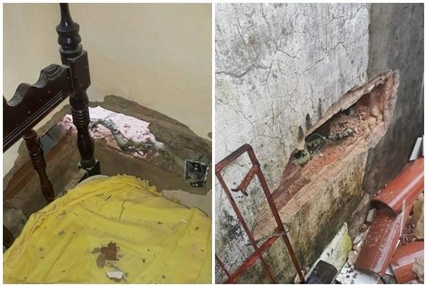 Raio atinge residência e causa prejuízos em Parnaíba