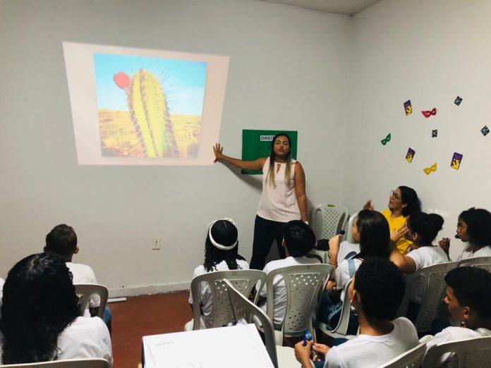 Centro de Apoio realiza ações educativas com jovens do NUCA em Oeiras