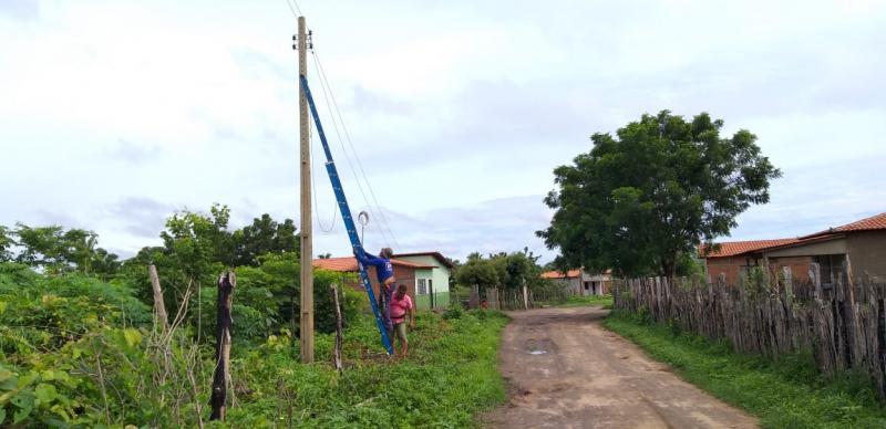 Prefeitura realiza manutenção e ampliação da iluminação pública de Lagoinha