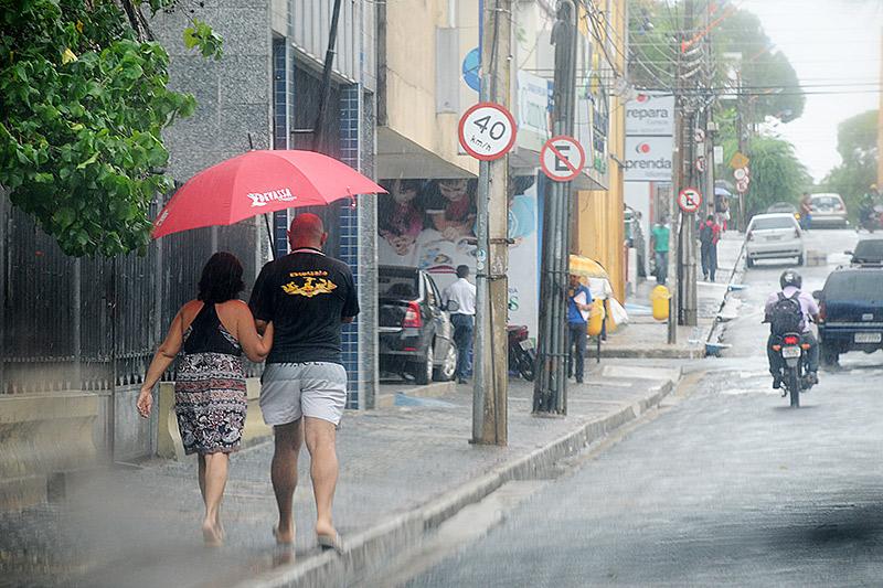 INMET prevê chuva no fim de semana na Capital e no interior