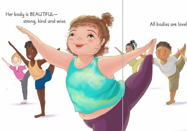 Blogueiras lançam livro infantil sobre aceitação do corpo