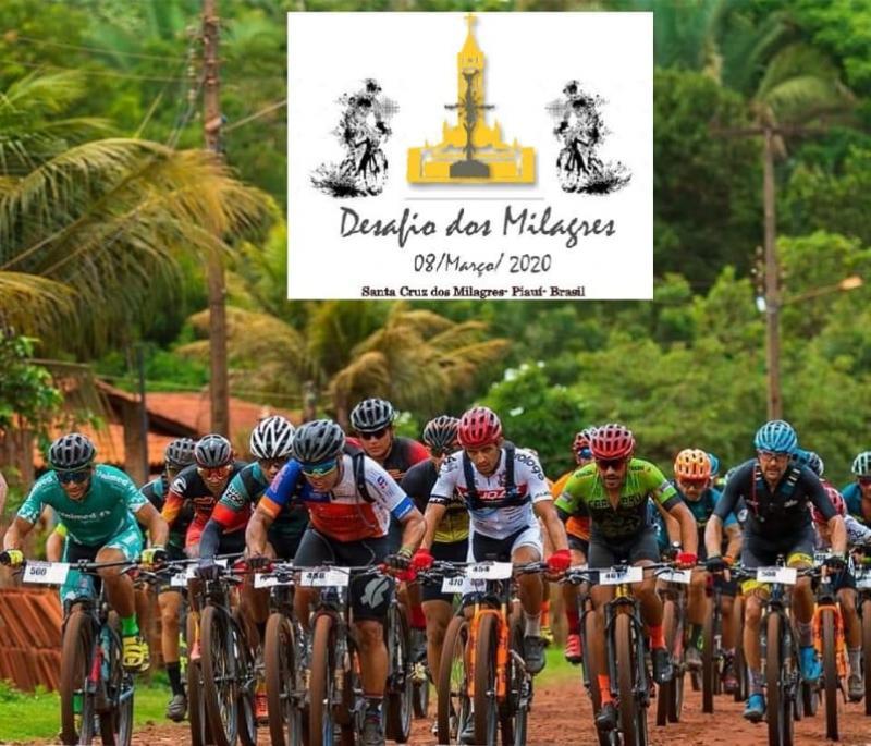Santa Cruz dos Milagres   1ª Edição MTB Maratona 2020 será dia 08 de março