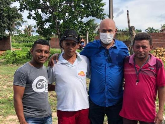 Prefeito Nilton Bacelar visita município e anuncia recursos para obras