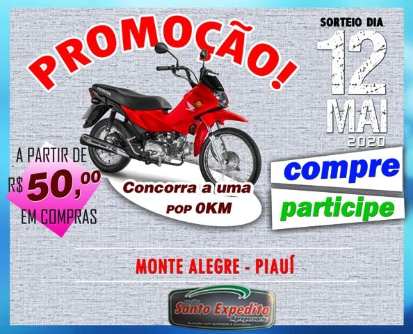 Monte Alegre: sorteio da POP acontece no mês de maio. Compre e concorra