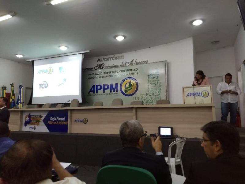 Vereadores de Landri Sales participam de reunião na APPM
