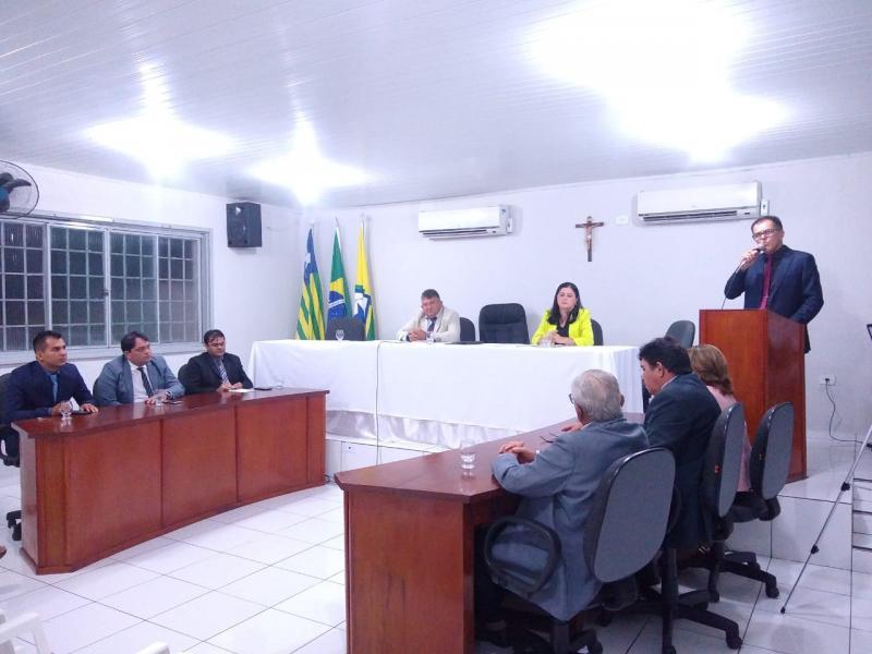 Sessão solene marca abertura do ano legislativo na Câmara de Brasileira