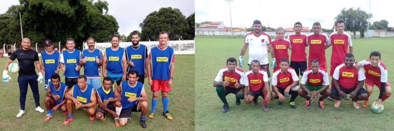 partida de inauguração da Associação Atlética de Veteranos de São Gonçalo do Piauí