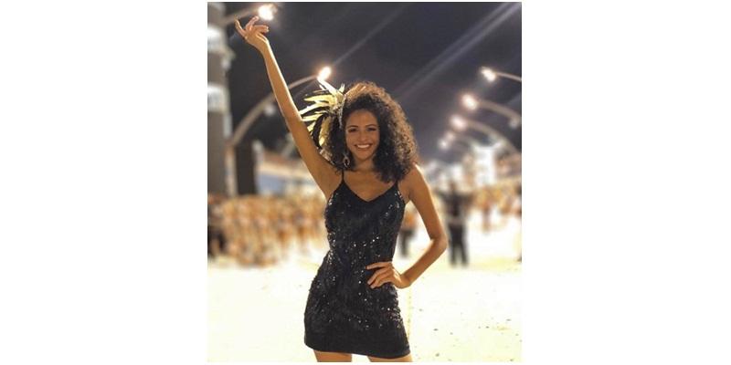 Monalysa Alcântara vai desfilar na escola de samba Vai-Vai