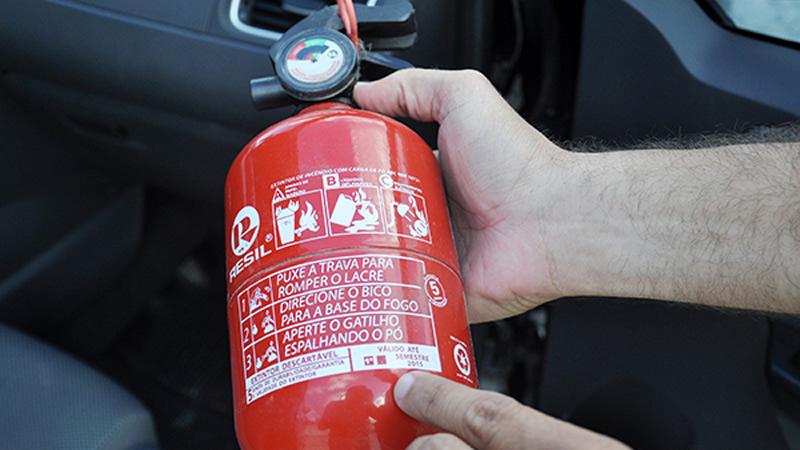 Extintor de incêndio em todos os veículos poderá ser obrigatório