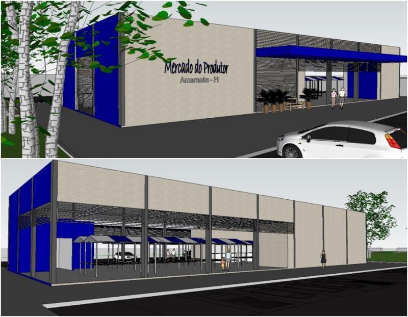 Mercado de Amarante terá nova estrutura e mais conforto para o produtor