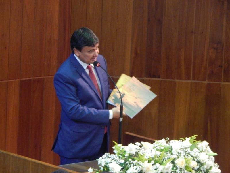 Governador Wellington Dias abre ano legislativo na Assembleia