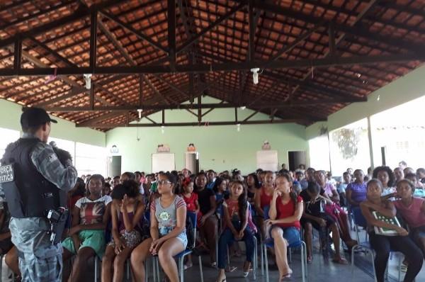 Palestra com o tema 'Todos contra as Drogas' é ministrada em São Gonçalo do Piauí