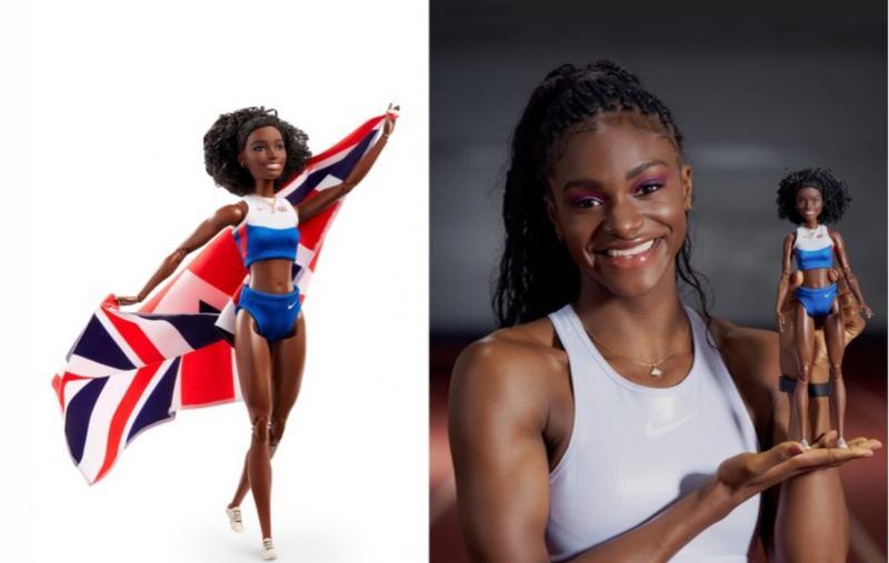 Barbie lança boneca inspirada em campeã mundial de atletismo