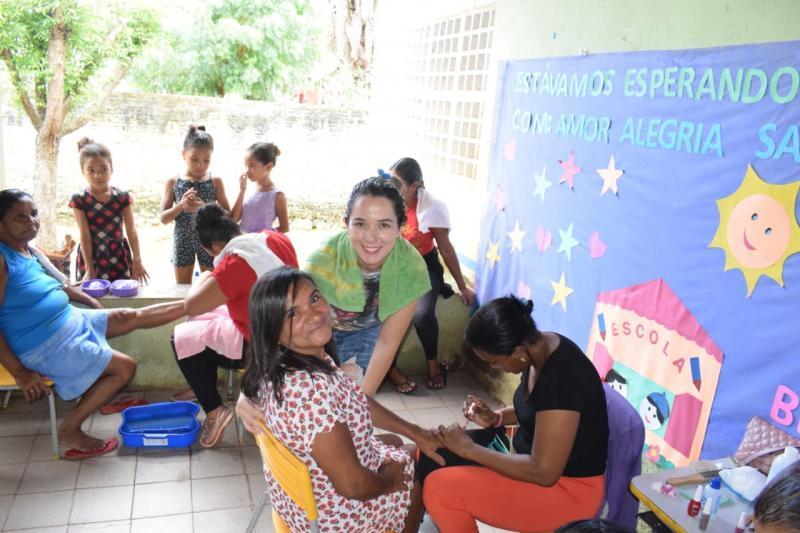 SEMASC realiza  Dia da Beleza no povoado Carnaúbas