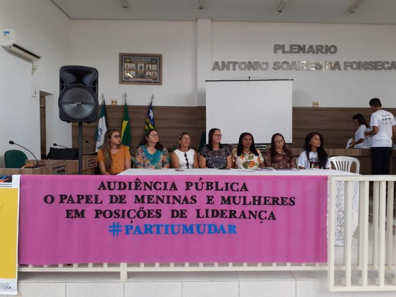 NUCA de Francinópolis realiza audiência pública em homenagem às mulheres