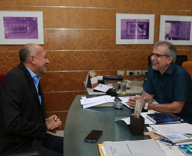 Warton Lacerda e JVC discutem cenário político piauiense