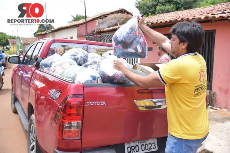 Vice-prefeito doa salário para ajudar vítimas da chuva