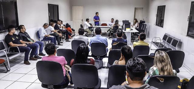 Cocal   Prefeito Rubens Vieira participa de audiência pública no MP-PI