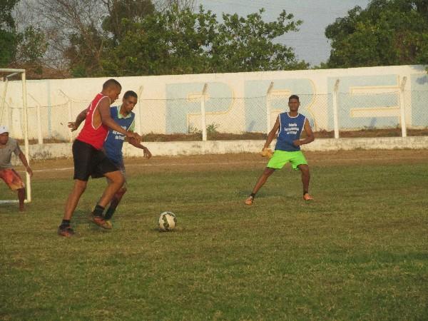 Seleção agricolandense faz treino antes de encarar a seleção de Santo Antônio no sábado