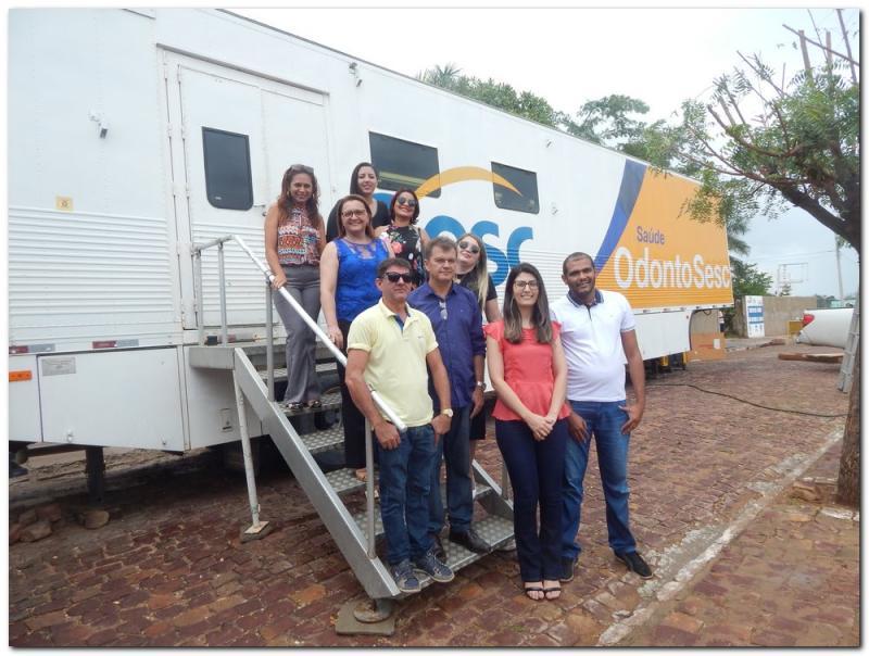 Inhuma recebe unidade móvel com serviços odontológicos gratuitos