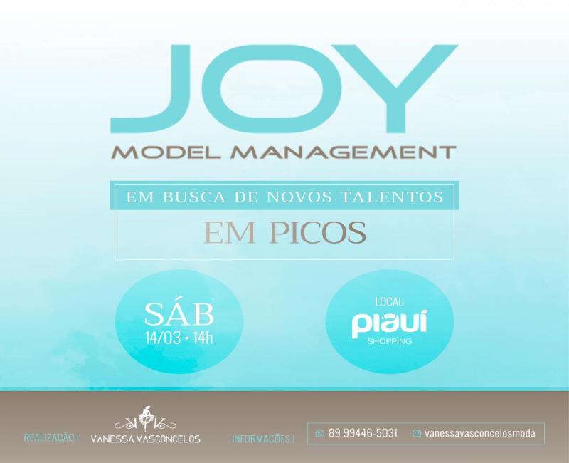 PICOS | Agência Joy Model realizará seletiva para novos talentos