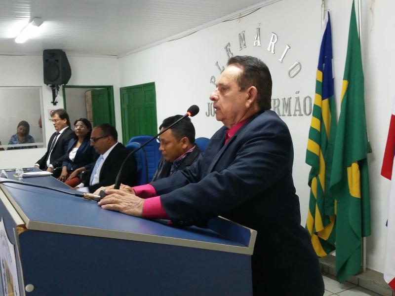 Prefeito faz abertura do ano legislativo