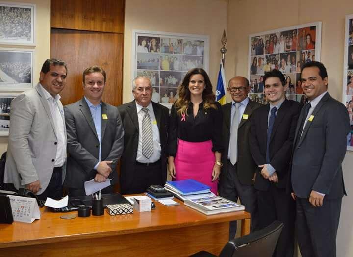 Prefeitos do Piauí se reúnem com deputada Iracema Portella em Brasília
