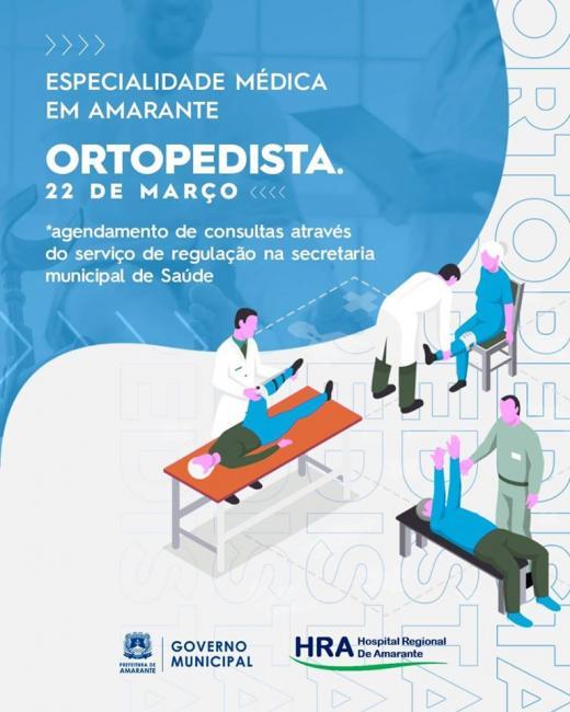 Prefeitura anuncia médico especialista para o município de Amante