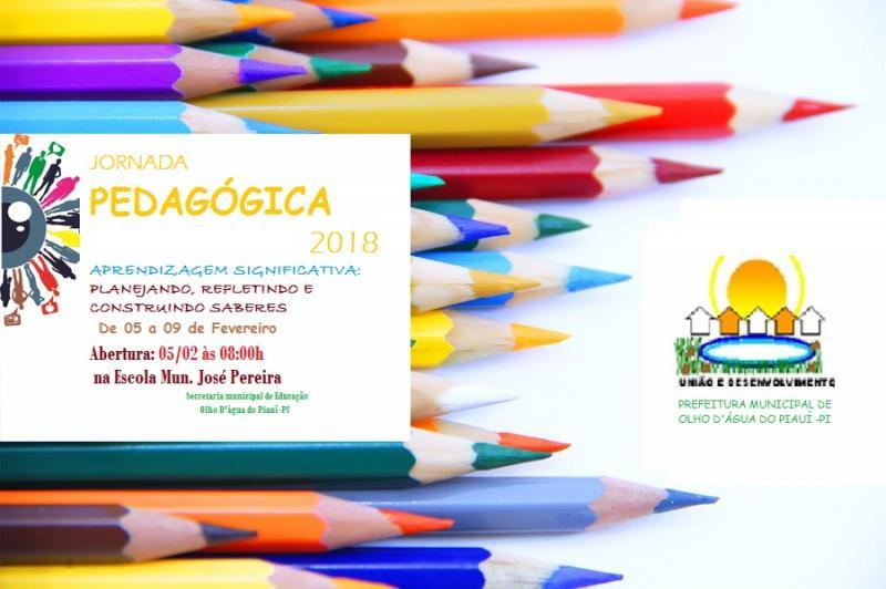 SEMEC de Olho D'água realiza planejamento e ações para o ano letivo de 2018