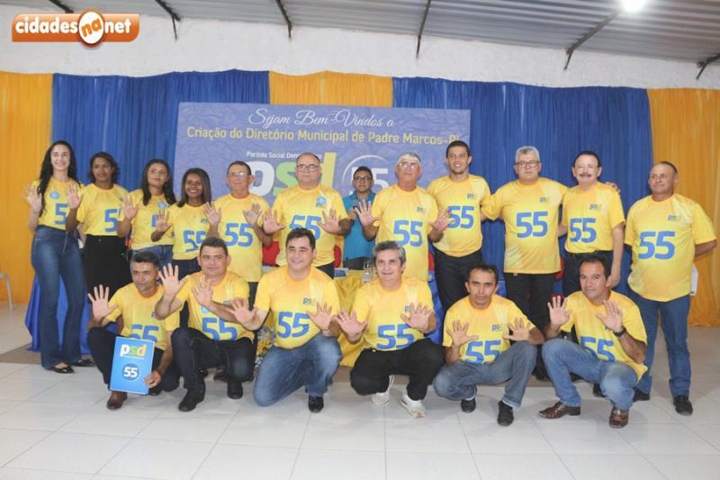Diretório Municipal do PSD é criado em Padre Marcos e filia seis vereadores